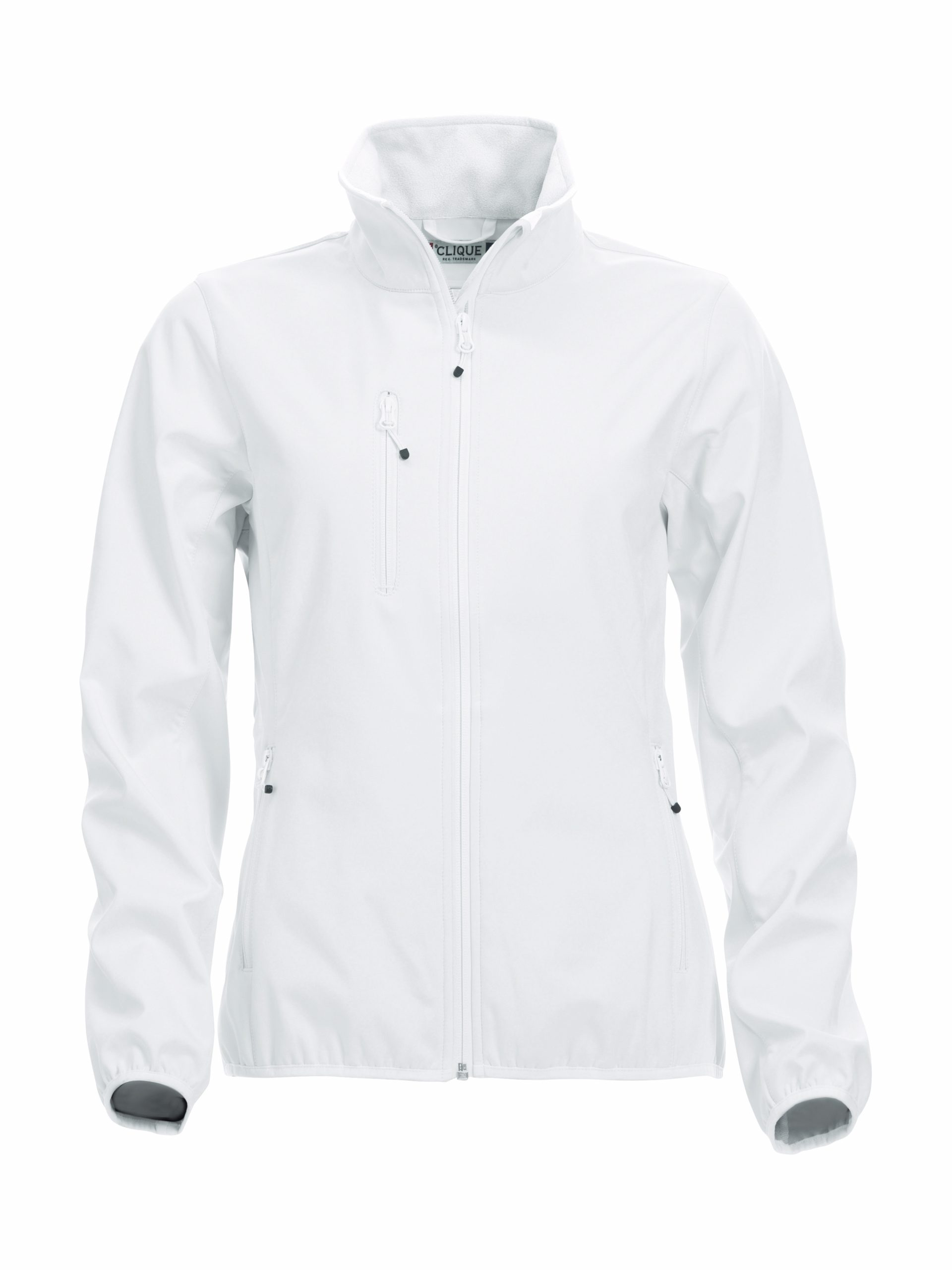 Clique Basic Softshell Jacket Ladies valkoinen