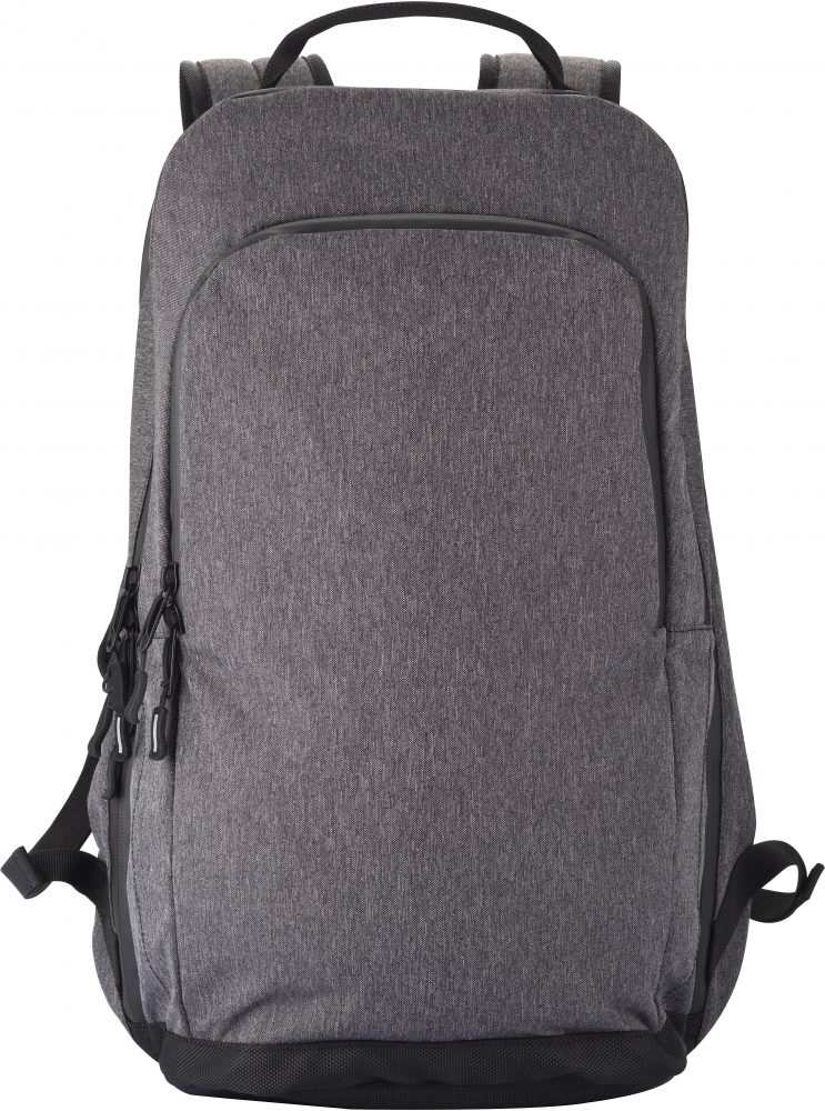 Clique City Backpack Antracit melange