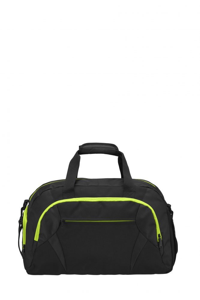 Grizzly Active Line Sportbag big musta/keltainen