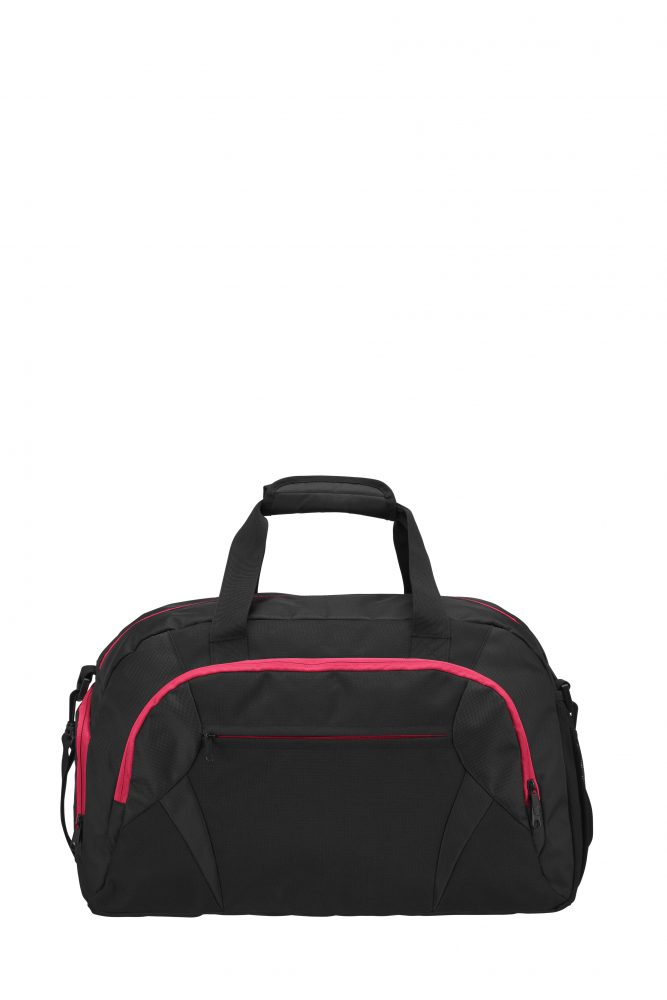Grizzly Active Line Sportbag big musta/rosa