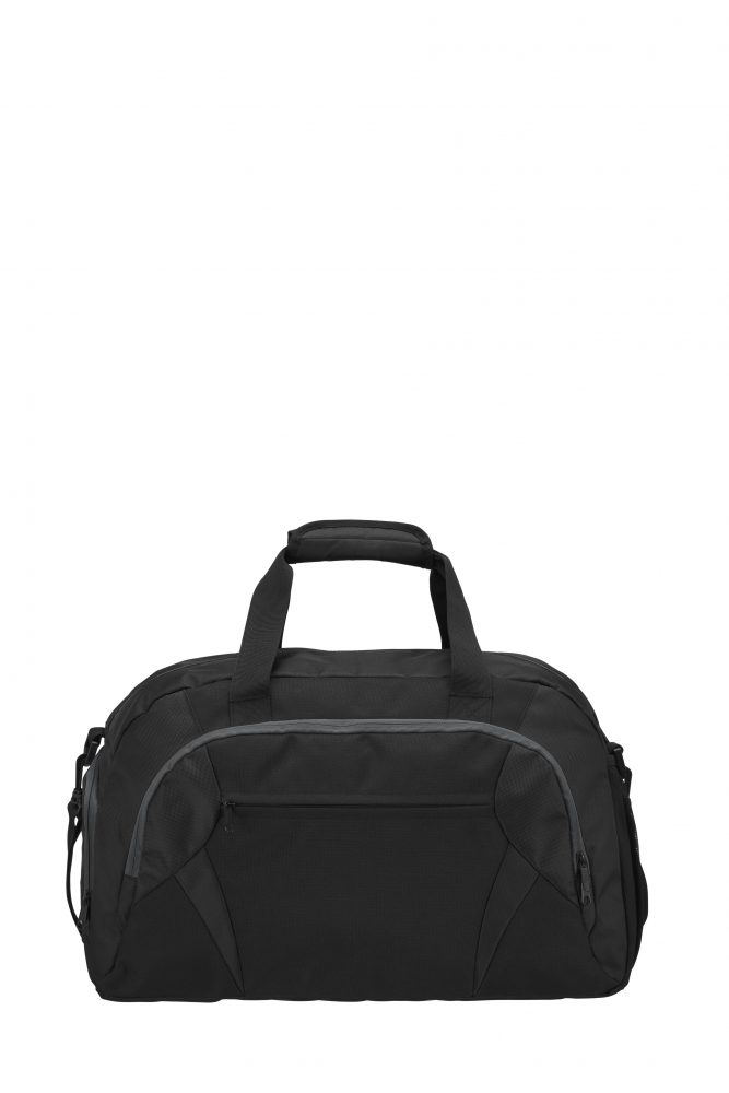 Grizzly Active Line Sportbag big musta/harmaa