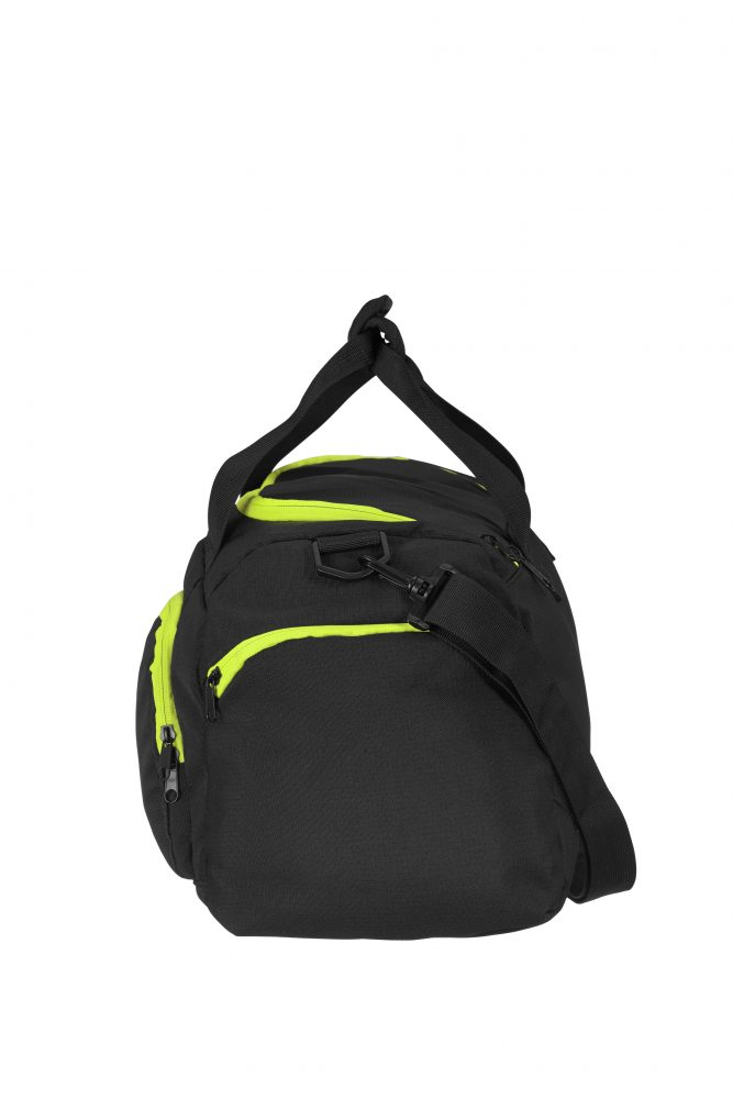 Grizzly Active Line Sportbag small musta/keltainen