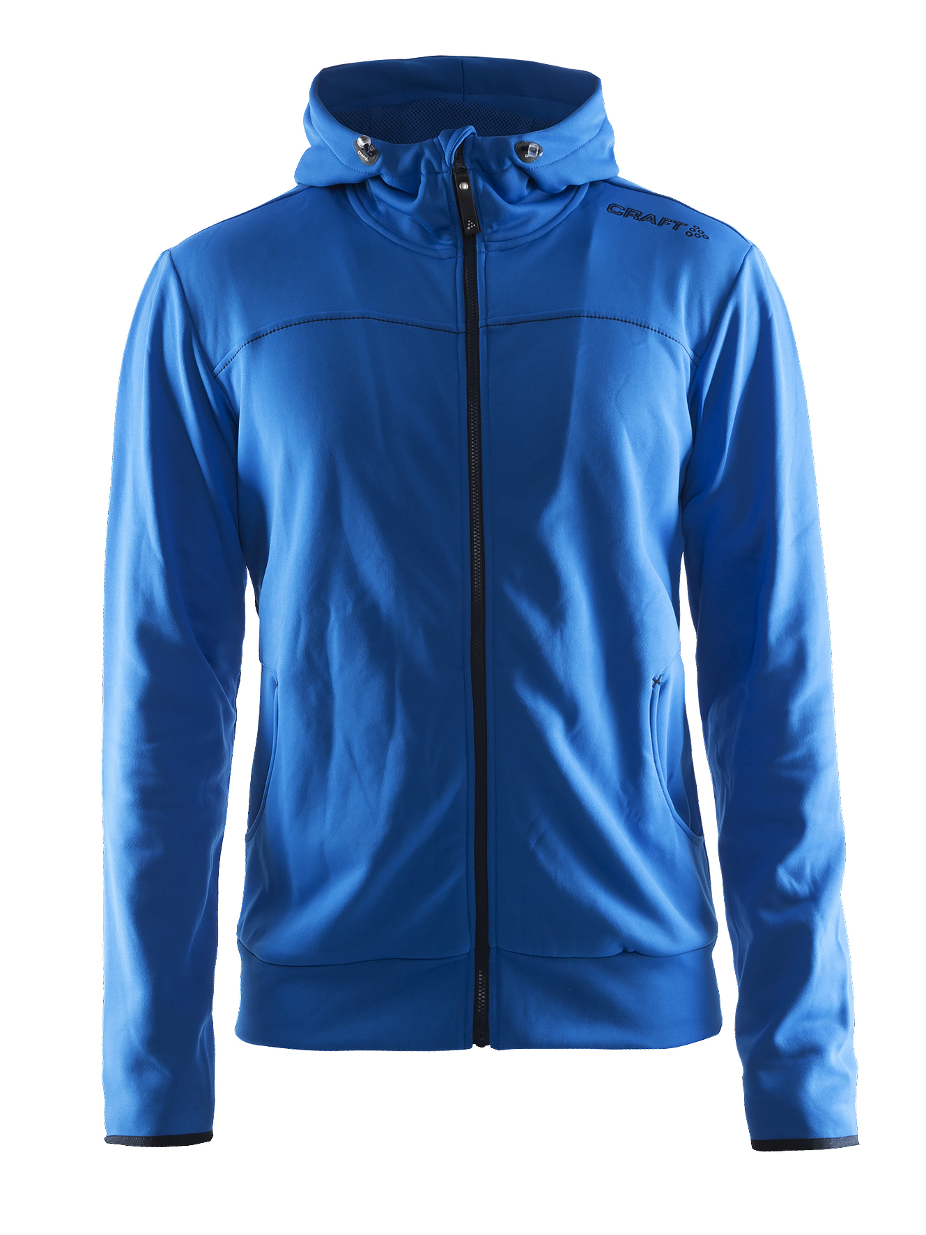 Craft Leisure Full Zip Hood M Sweden Blue