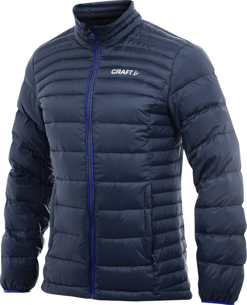Craft Light Down Jacket M Dk Navy/ Sweden Blue