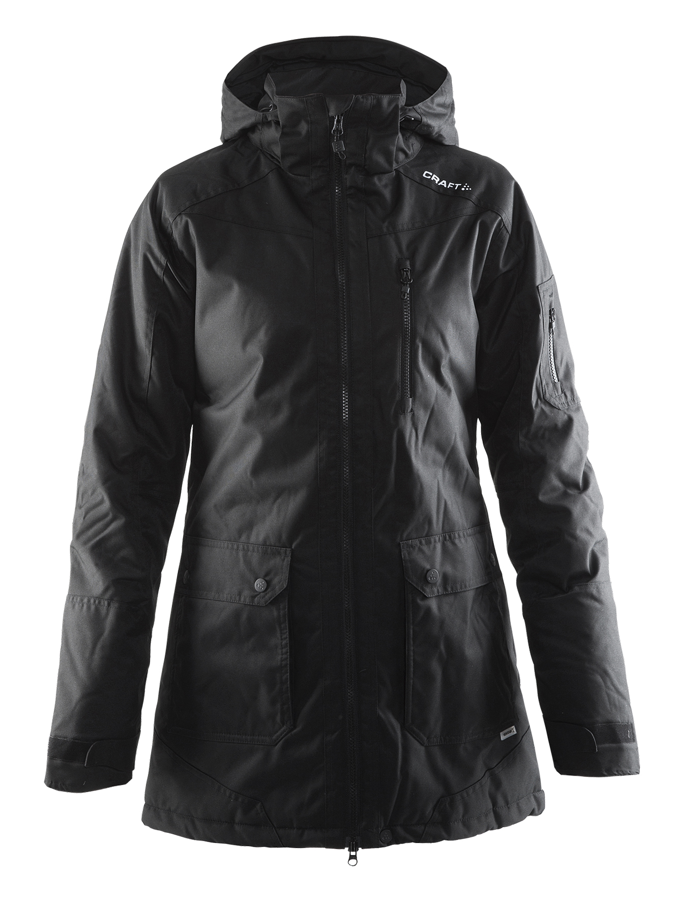 Craft Parker Jacket W Black