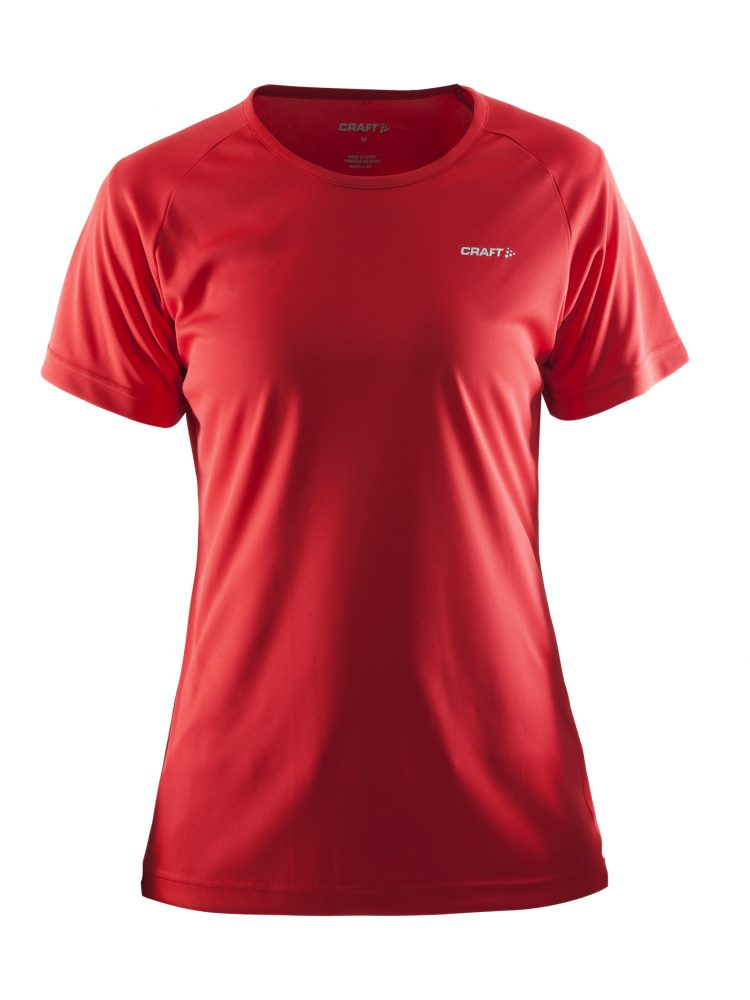 Craft Prime Tee W Bright Red