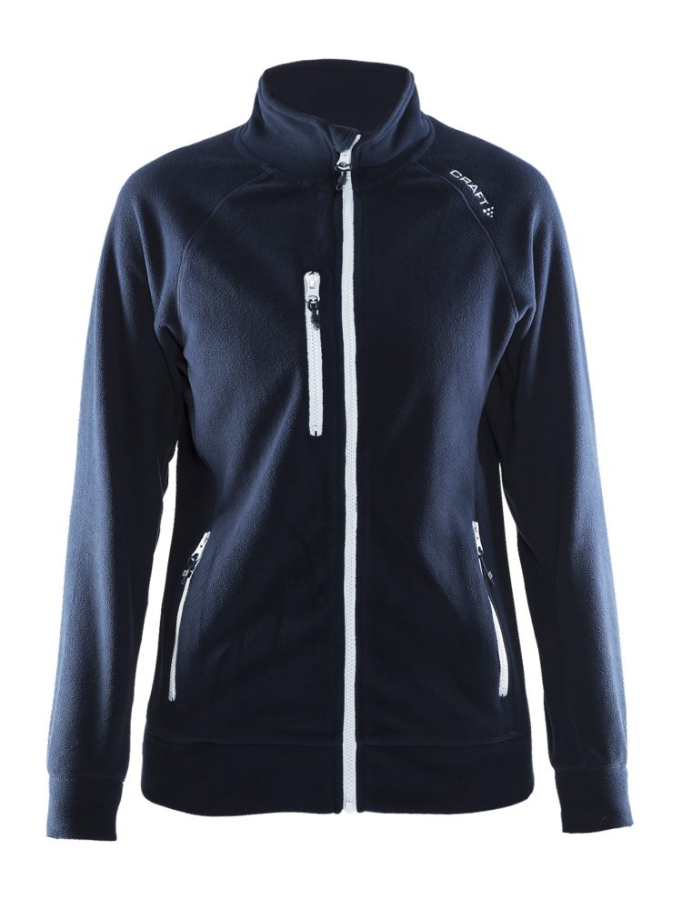 Craft Fleece Jacket W Dk Navy
