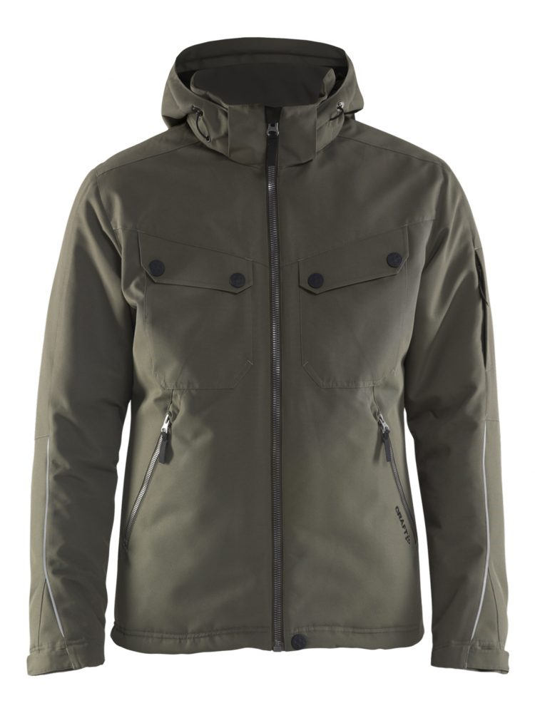 Craft Utility Jacket M Dark Olive/Platinum