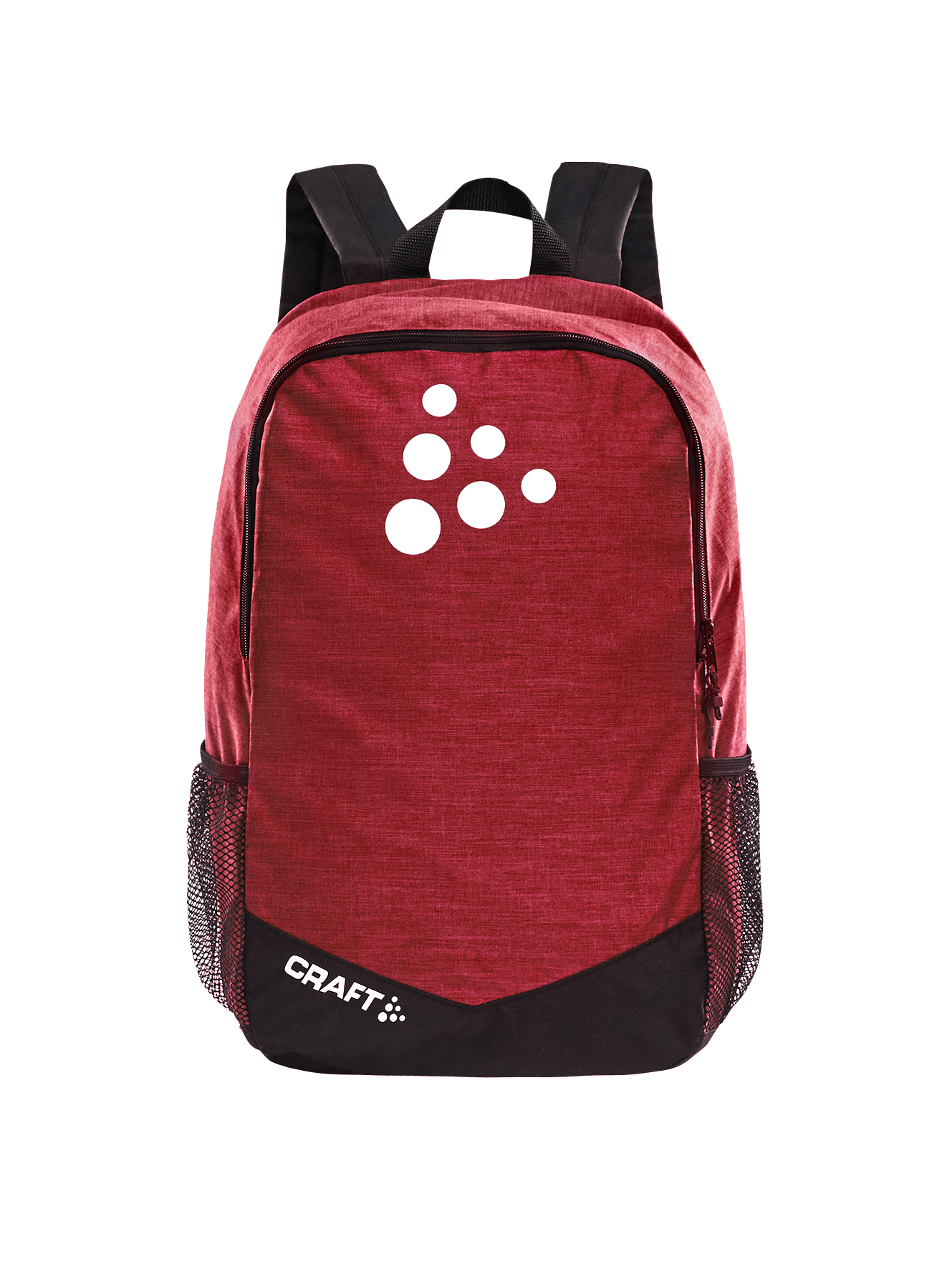 Craft SQUAD Practise Backpack BRIGHT RED MEL / BLACK