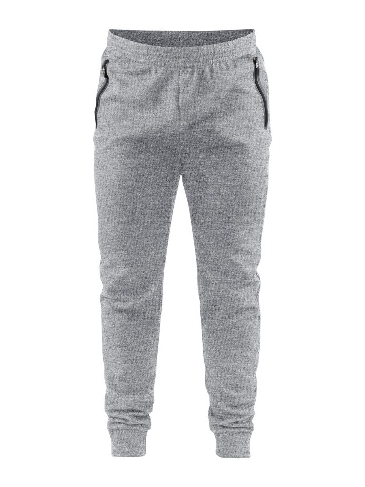 Craft Emotion Sweatpants M Grey Melange
