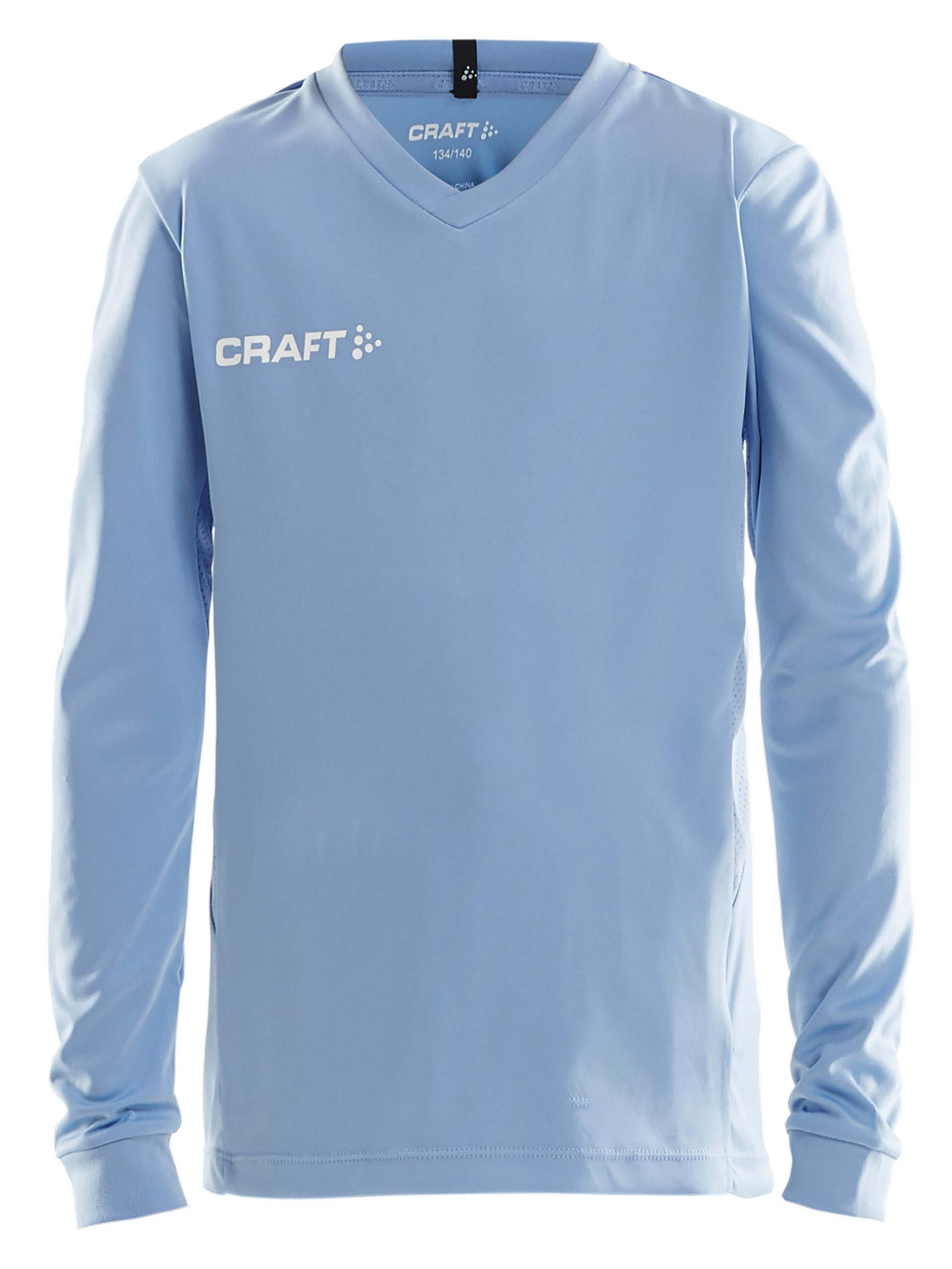 Craft Squad Jersey Solid LS Jr MFF Blue