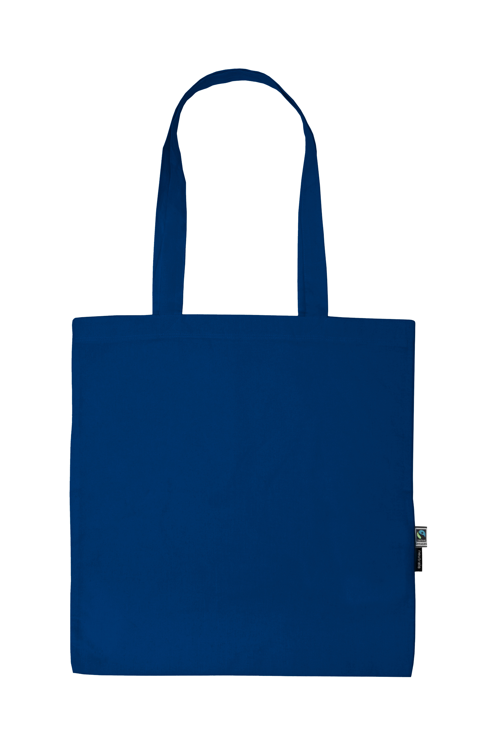 Neutral Shopping Bag w. Long Handles Royal