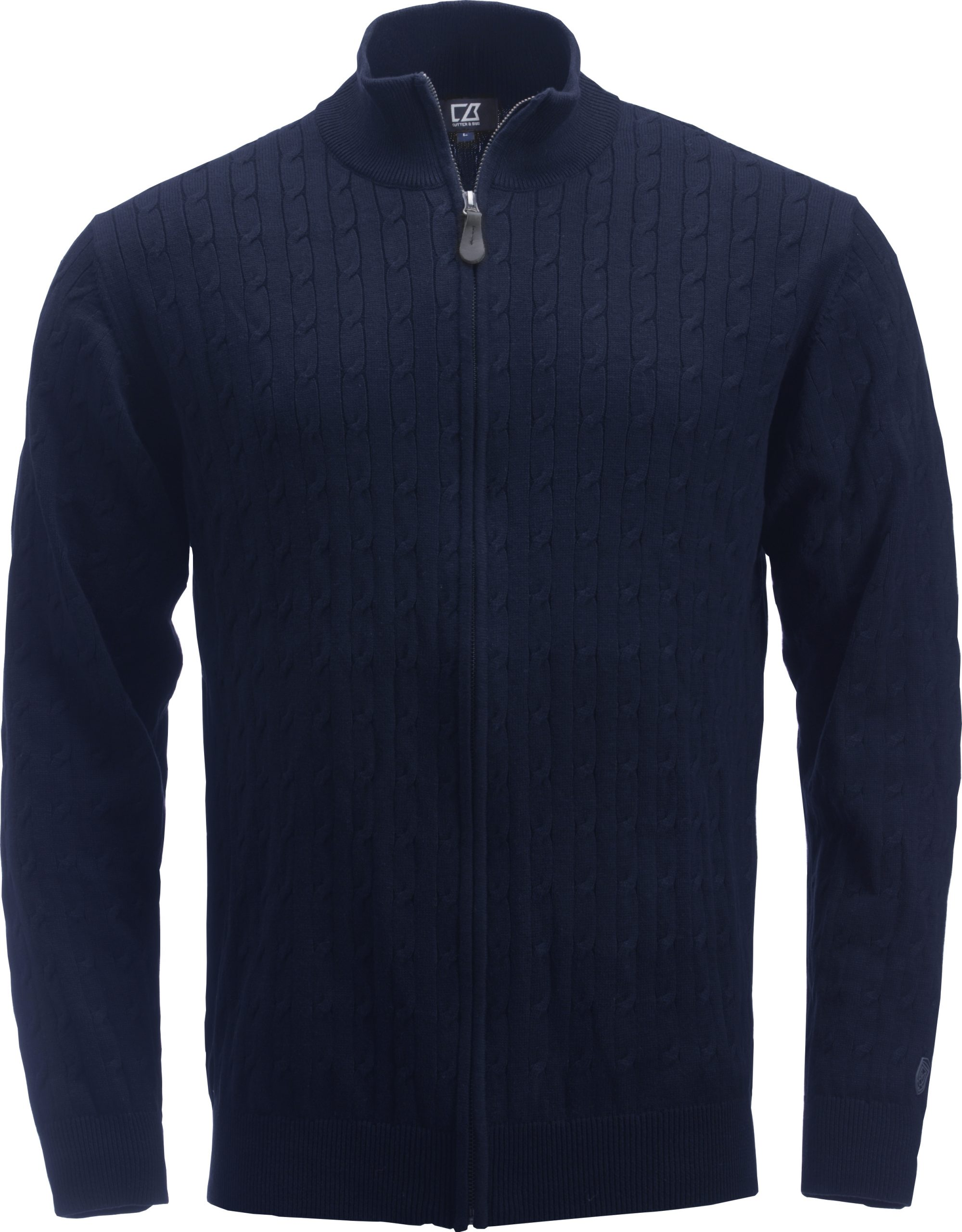 Cutterandbuck Blakely Knitted Full Zip Syvänsininen
