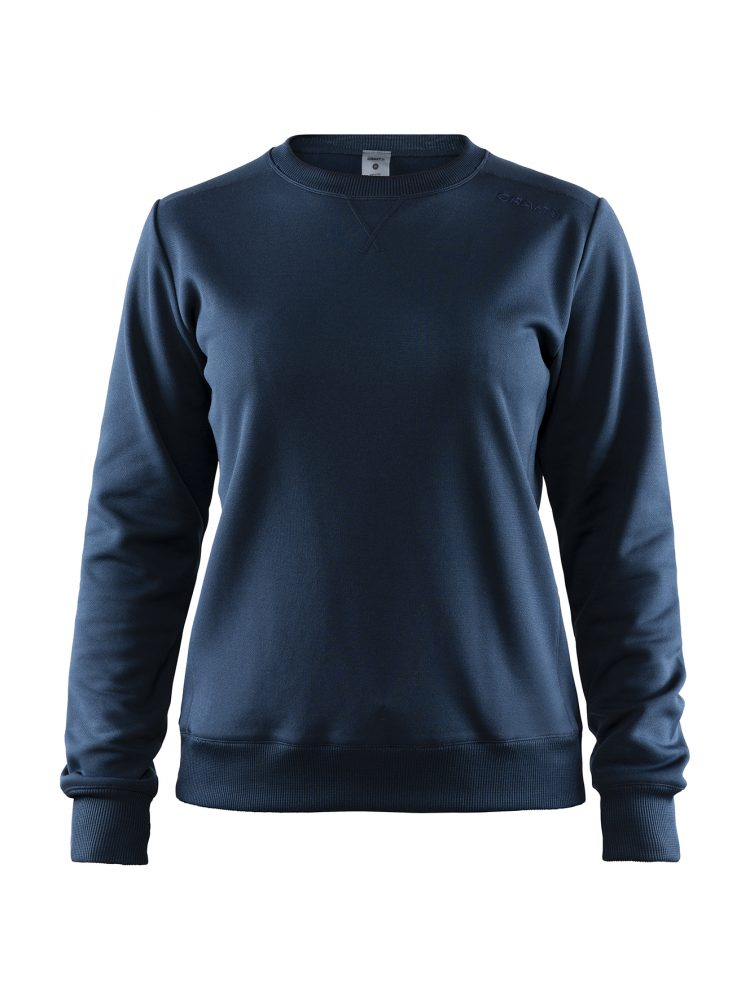 Craft Leisure crewneck W DARK NAVY