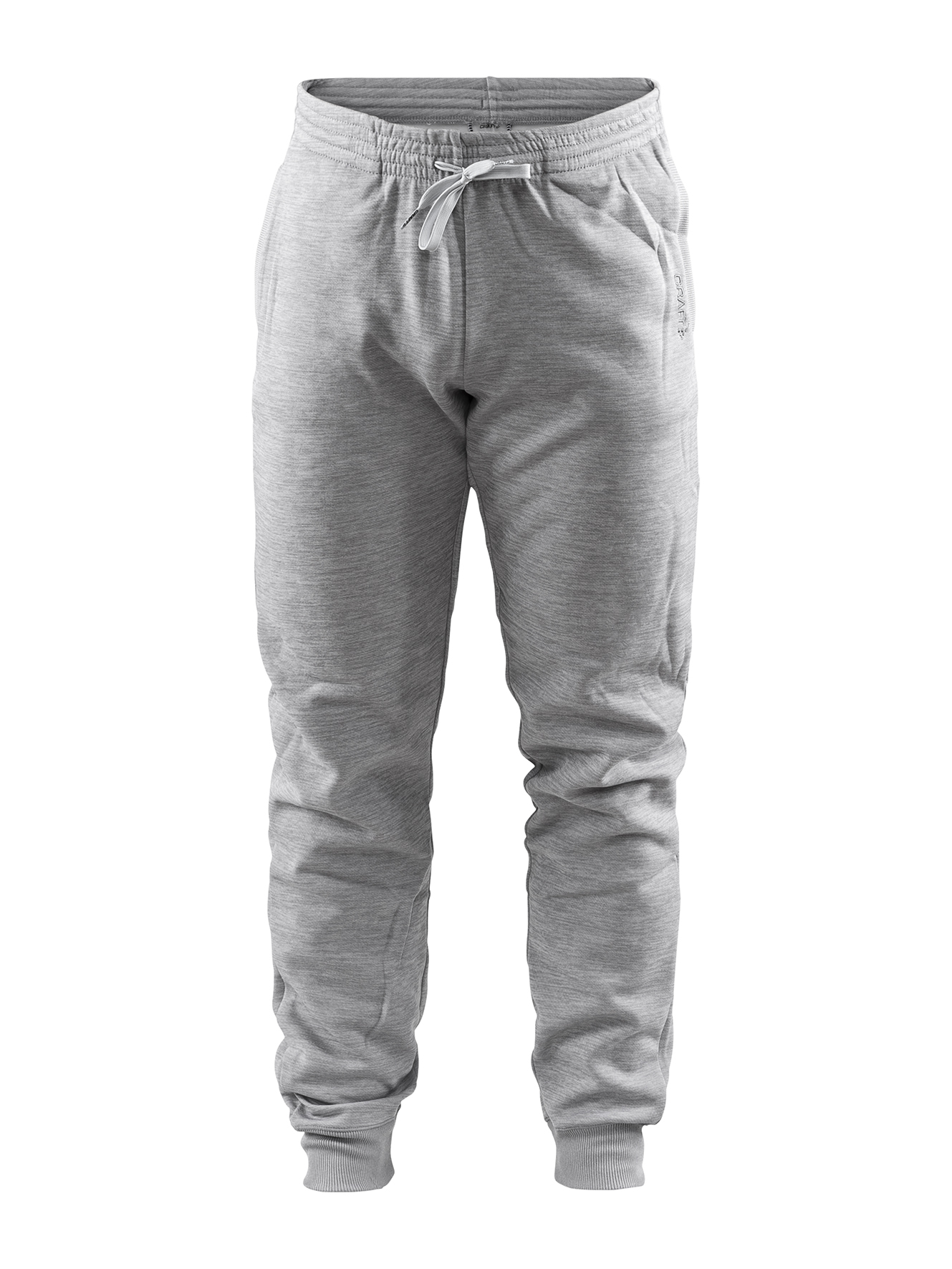 Craft Leisure sweatpants M GREY MELANGE