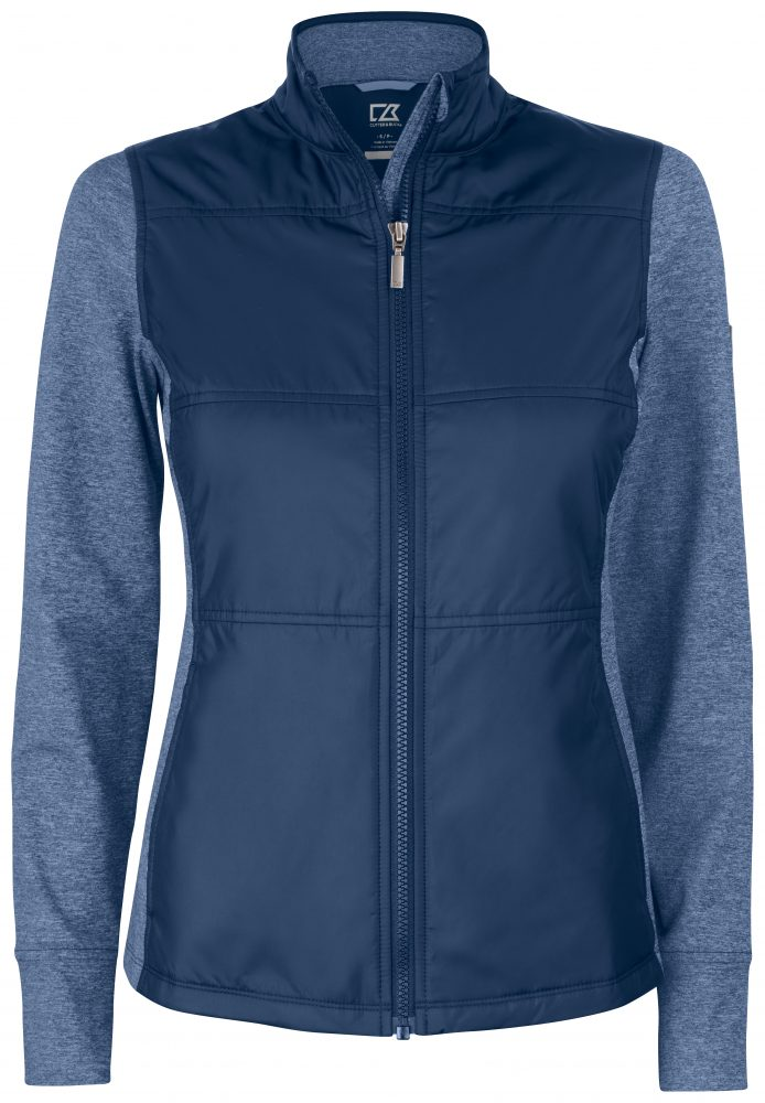 Cutterandbuck Stealth Jacket Ladies Tummansininen