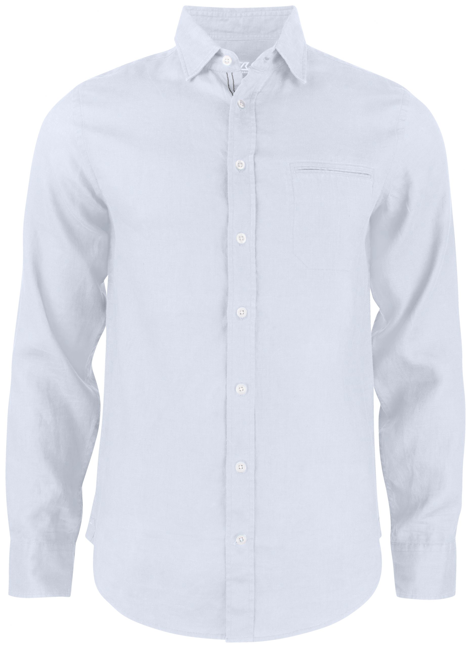 Cutterandbuck Summerland Linen Shirt White
