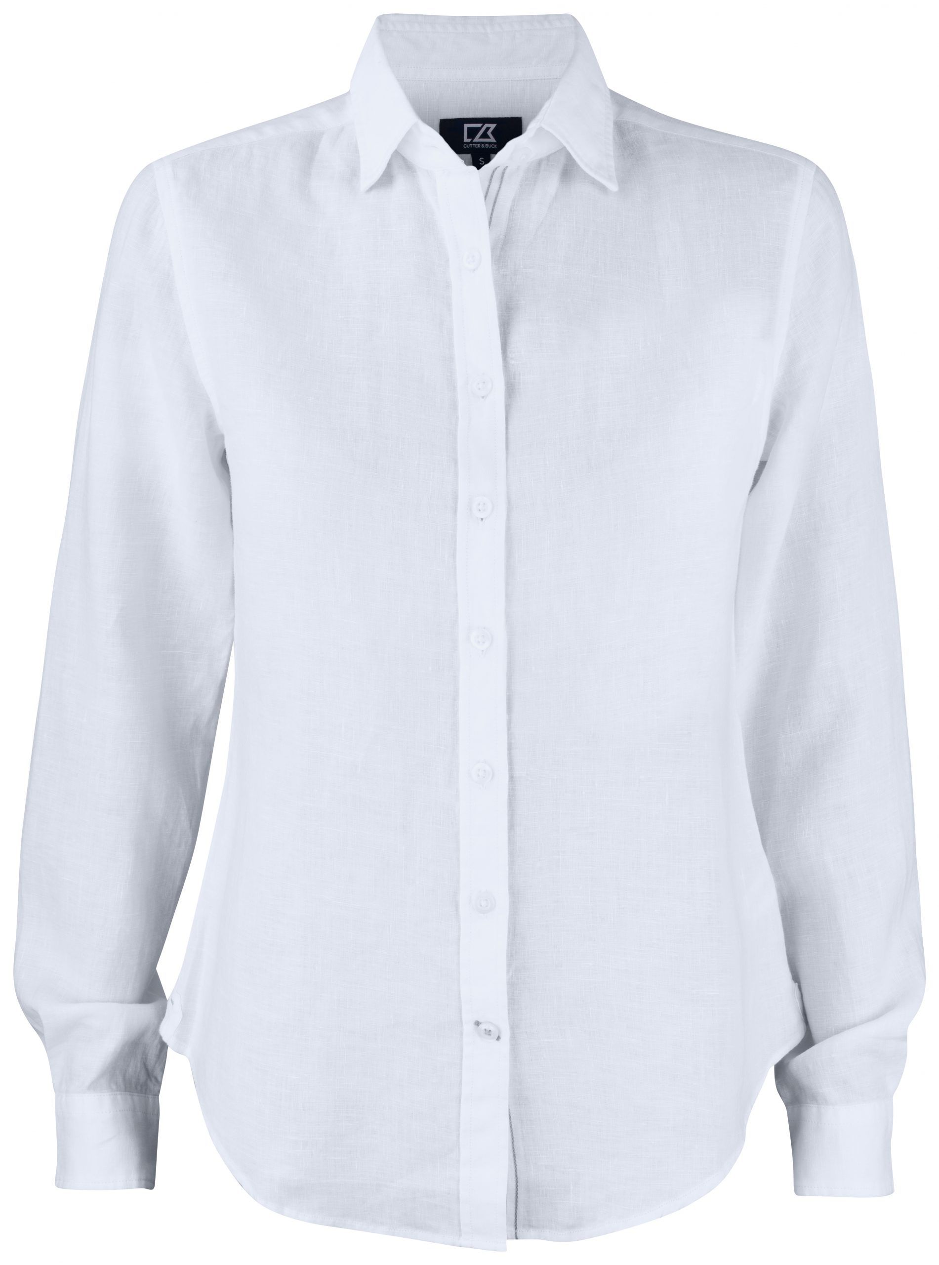 Cutterandbuck Summerland Linen Shirt Ladies White