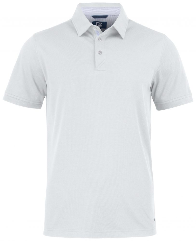 Cutterandbuck Advantage Premium Polo Men White