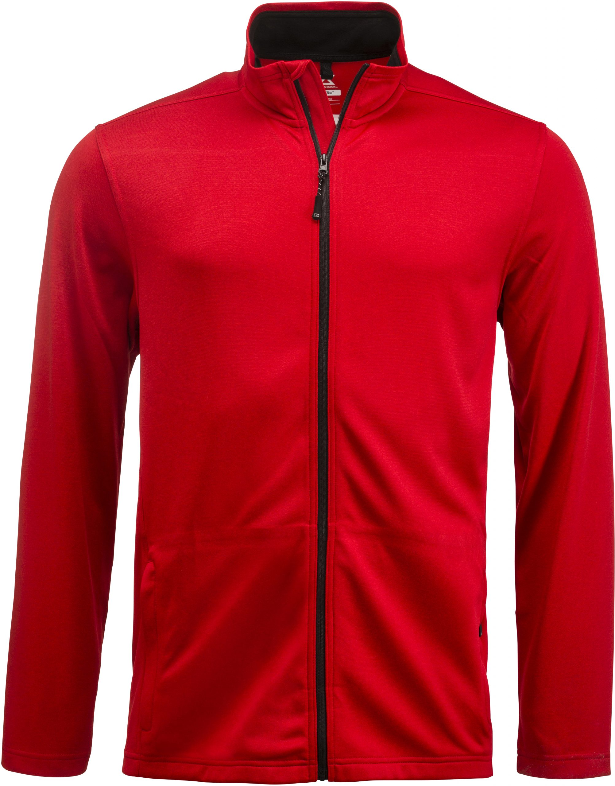 Cutterandbuck Twin Lakes Full Zip Men´s Meleerattu punainen